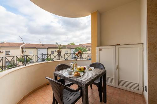A balcony or terrace at Trilo Gemelli 1