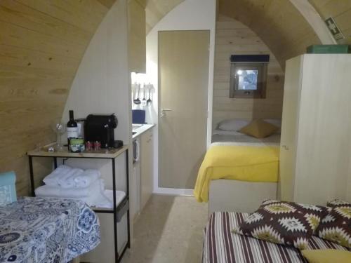 Ein Bett oder Betten in einem Zimmer der Unterkunft Glamping Sintra