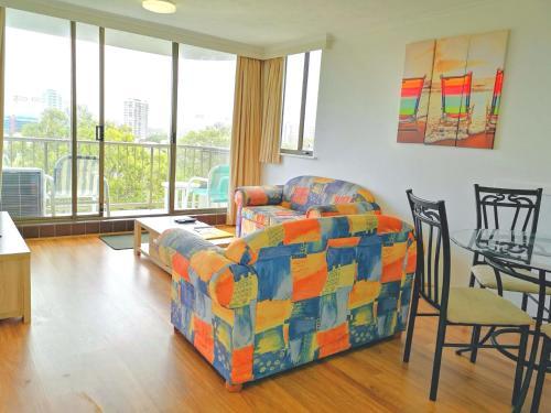 A seating area at Anacapri Holiday Resort Apartments