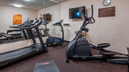 The fitness center and/or fitness facilities at Best Western Plus Wakeeney Inn & Suites