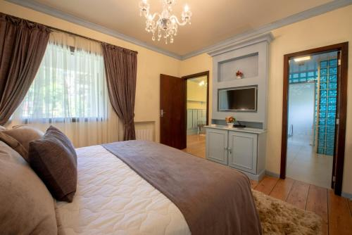 Cama ou camas em um quarto em Hotel Ritta Höppner