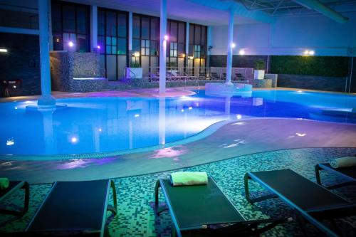 The swimming pool at or near Village Hotel Nottingham
