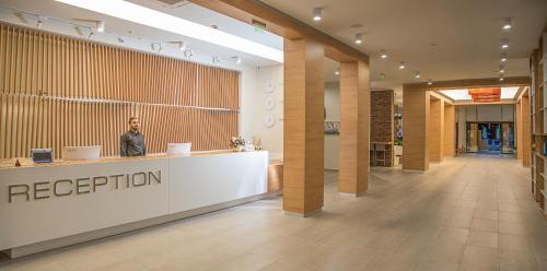 The lobby or reception area at Hotel Laguna Park & Aqua Club - All Inclusive