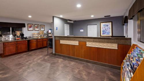 The lobby or reception area at SureStay Hotel by Best Western Blythe