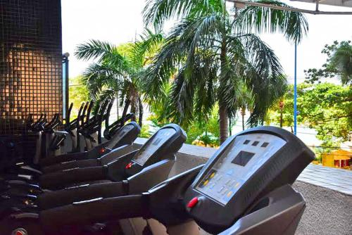 The fitness centre and/or fitness facilities at Landscape Residence Service