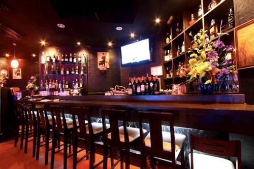 The lounge or bar area at Glitz Bangkok
