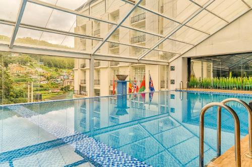 المسبح في فندق ذا جولدن ريدج أو بالجوار
