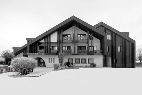 Hotel Krondlhof durante l'inverno