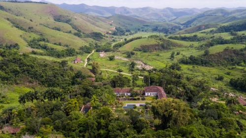 Uma vista aérea de Burle Marx na Serra da Bocaina