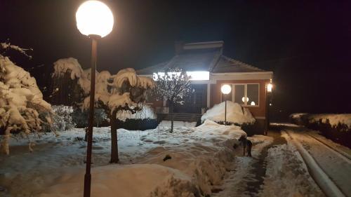 Vila LOLA tokom zime