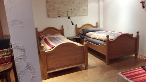 A bed or beds in a room at Zimmer in Kettwig
