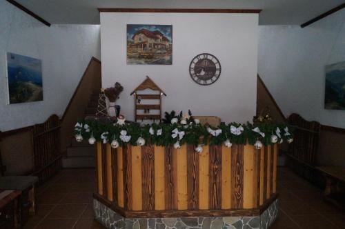 The lobby or reception area at Dacha