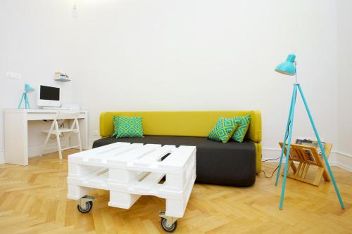 A seating area at Apartment Marmonaut