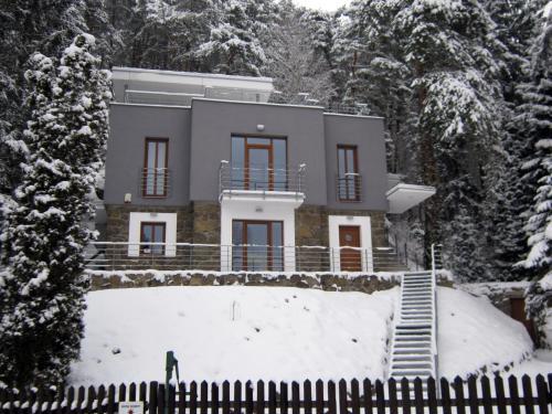 Penzion Letná v zimě