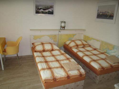 Postel nebo postele na pokoji v ubytování Penzion Letná