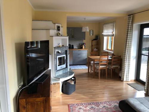 Küche/Küchenzeile in der Unterkunft Villa Loserblick