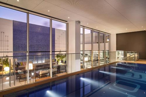 The swimming pool at or close to Aloft Lima Miraflores, a Marriott Hotel
