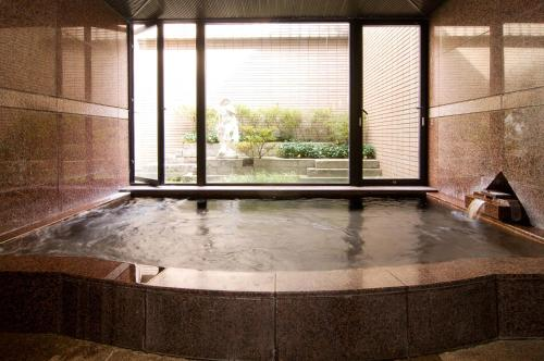 The swimming pool at or near Hotel Windsor