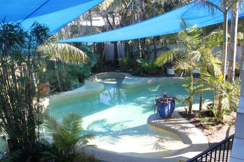 The swimming pool at or near Salamander Beach Accommodation - Adults Only