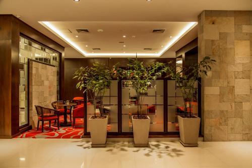 Un restaurante o sitio para comer en Carnaval Hotel Casino