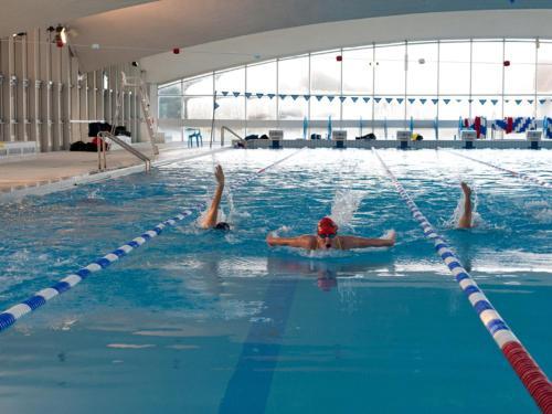 The swimming pool at or near LE COEUR DE DEAUVILLE - 2 PIECES DESIGN EN HYPERCENTRE DE DEAUVILLE