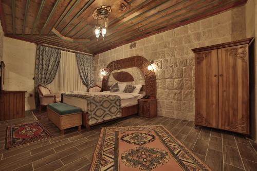 Cama o camas de una habitación en Grand Cappadocia Hotel