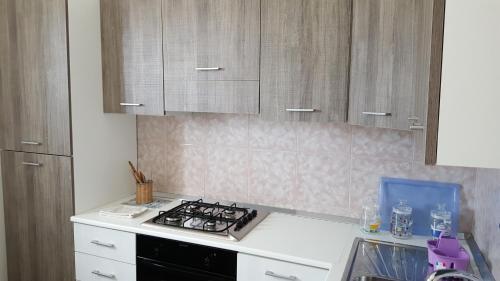 Cucina o angolo cottura di Appartamenti Emblema Mancaversa