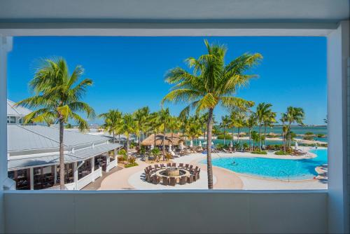 A view of the pool at Hawks Cay Resort or nearby