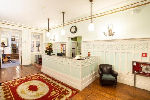 The lobby or reception area at Grande Hotel de Paris