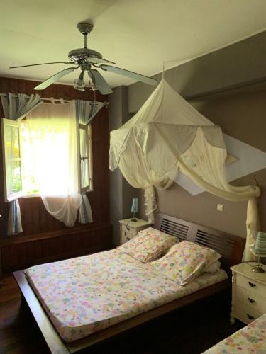Un ou plusieurs lits dans un hébergement de l'établissement Matilona