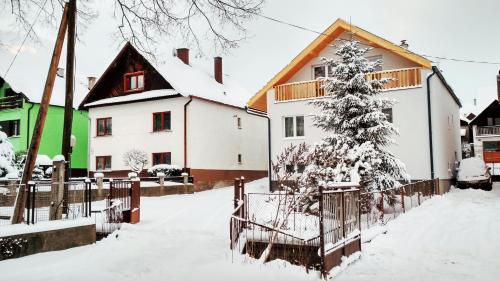 Nordic House v zime