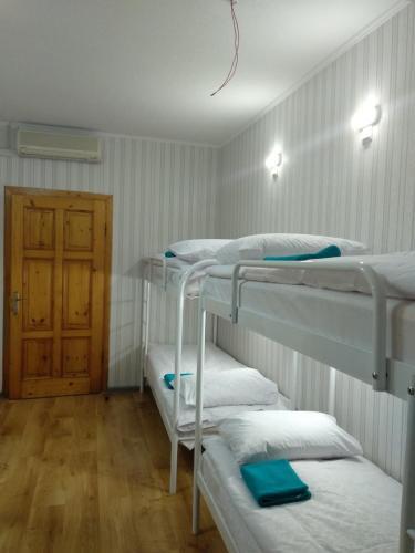 Двох'ярусне ліжко або двоярусні ліжка в номері VIP hostel