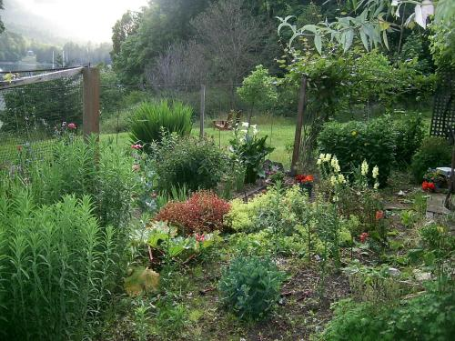 A garden outside Fulford Dunderry Vacation Rental and Cabin