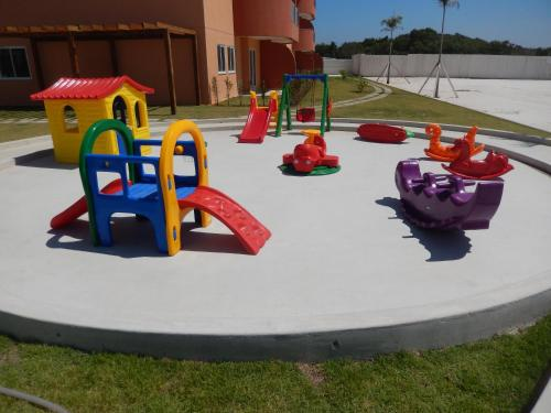 Children's play area at Flat entre Mar e Lagoa