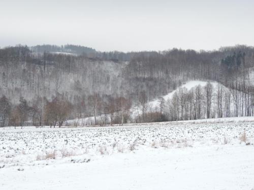 Obiekt Pod Miotełką zimą