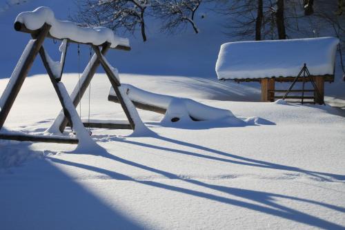 Chata Penzión Škerda v zimě
