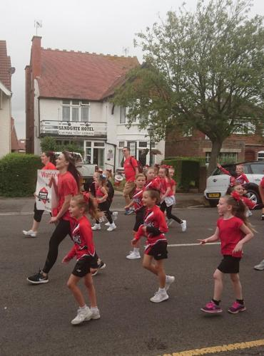 Children staying at The Sandgate