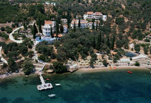 A bird's-eye view of Kerveli Village Hotel