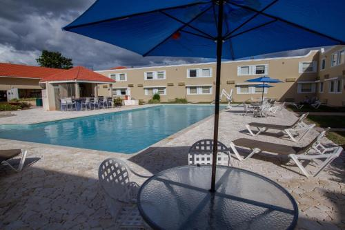 The swimming pool at or near Caribe Hotel Ponce