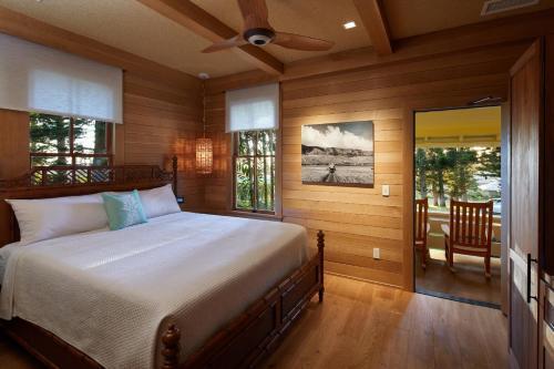 Letto o letti in una camera di Hotel Lanai
