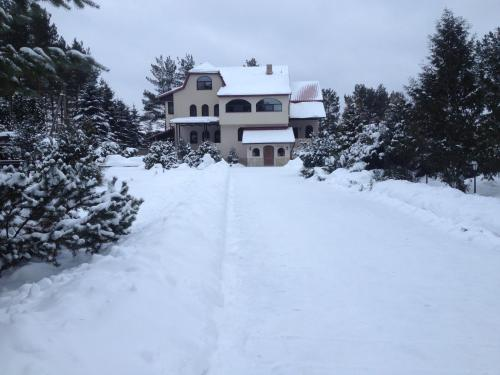 Guest House Taisiya during the winter