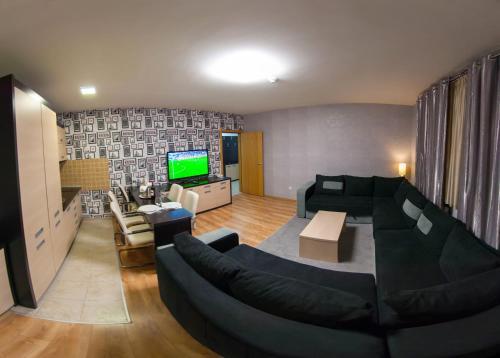 Prostor za sedenje u objektu Vip Apartments Kopaonik