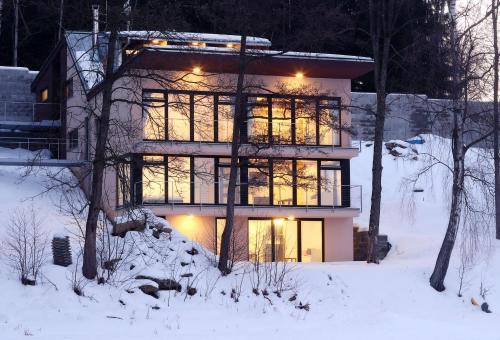 Apartmány Bella Vista Lipno during the winter