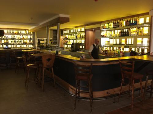 The lounge or bar area at Der schöne Asten - Resort Winterberg