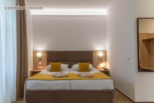 Ein Bett oder Betten in einem Zimmer der Unterkunft Grand Hotel Rogaska
