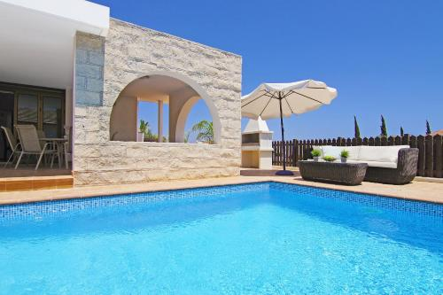 The swimming pool at or near Villa Merry