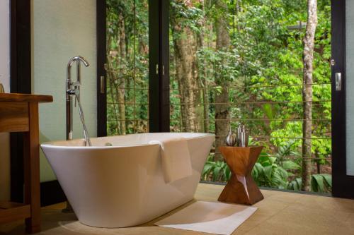 A bathroom at The Resort at Isla Palenque