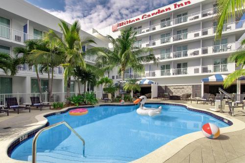 المسبح في فندق أوربانو ميامي أو بالجوار
