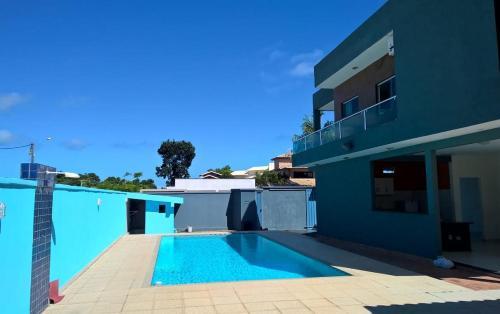 The swimming pool at or near Casa de Praia