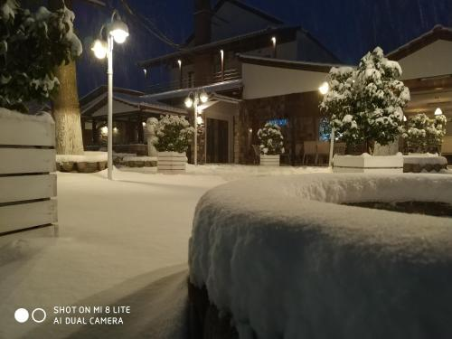 Obiekt Oasi zimą